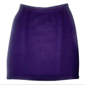 St  john santana knit knee skirt